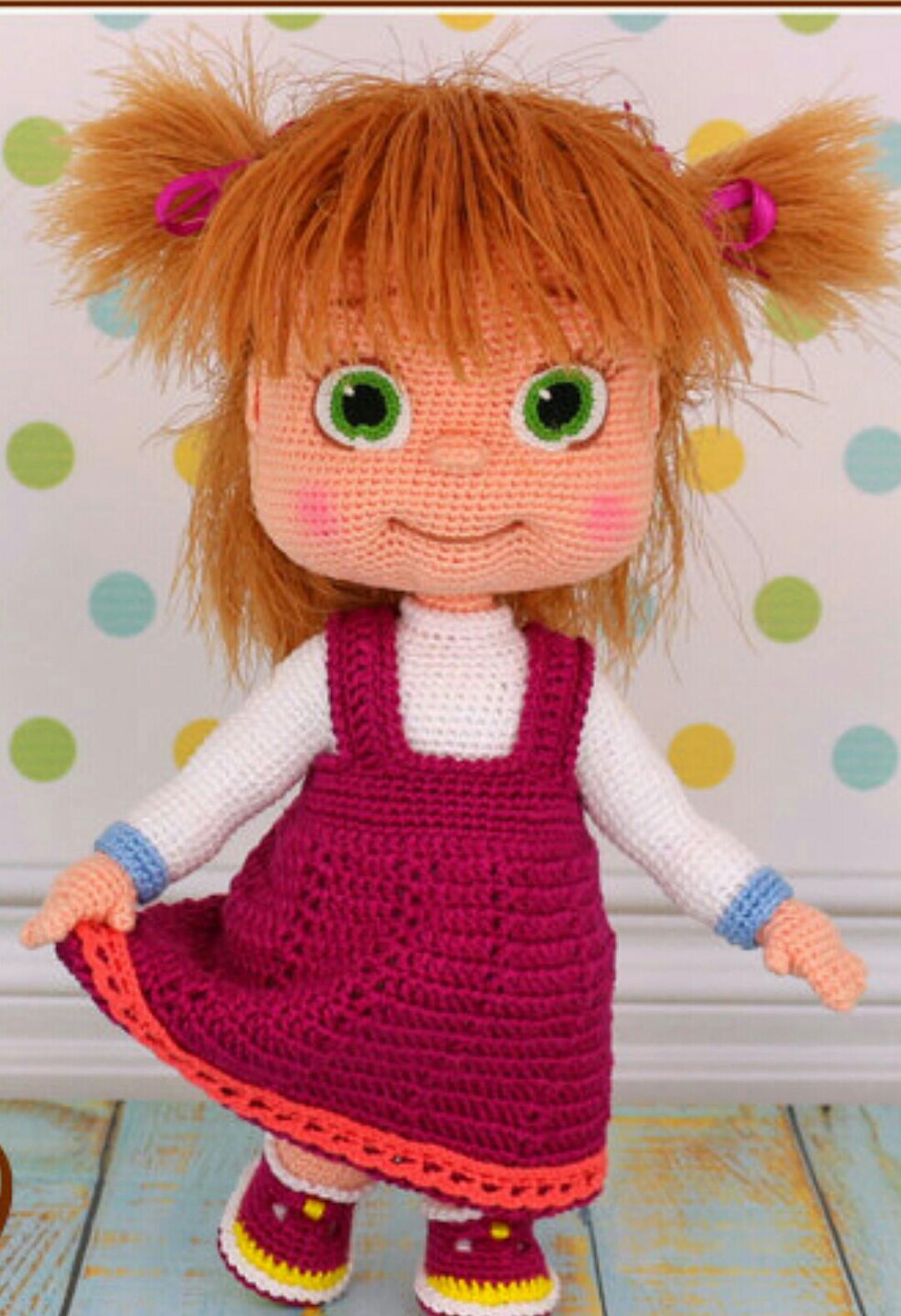 Amigurumi) Kıvırcık Çilli Kız Bebek - Lüleli Saç Yapılışı ve ... | 1577x1080