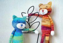 Amigurumi animeko örgü oyuncak kedi modeli yapılışı anlatımlı