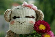 Amigurumi örgü oyuncak maymun modelleri yapılışı anlatımlı