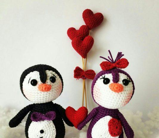 Amigurumi örgü oyuncak büyük boy penguen modelleri yapılışı anlatımlı