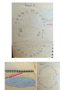 Şemalı ve yazılı anlatımlı örgü çanta modelleri anlatımlı
