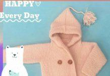 Amigurumi örgü kapşonlu çocuk hırkası modeli tarifi anlatımlı