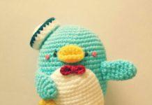 Amigurumi örgü oyuncak minik penguen modeli yapılışı anlatımlı