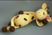 Amigurumi örgü oyuncak benekli zürefa modelinin tarifi anlatımlı