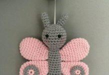 Amiguumi örgü oyuncak kelebek modeli yapılışı ( Anlatımlı