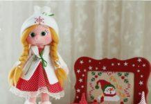 Amigurumi örgü oyuncak modelleri tini mini desing kız bebek modeli yapılışı anlatımlı