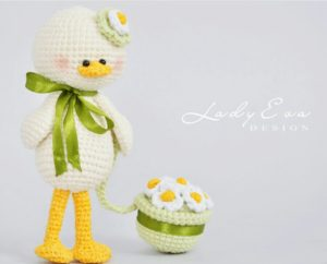 Amigurumi örgü oyuncak şapkalı ördek modeli yapılışı anlatımlı