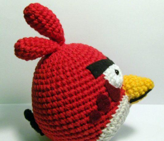 Amigurumi örgü oyuncak kızgın kuş tarifi anlatımlı