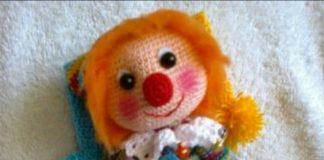 Amigurumi örgü oyuncak palyaço modelleri ve yapılışları anlatımlı