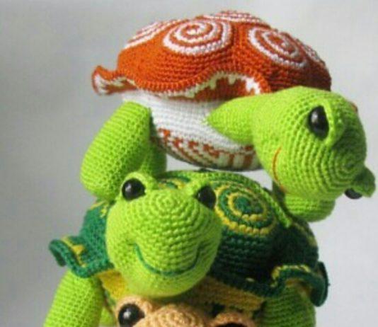 Amigurumi kaplumbağa tarifi anlatımlı