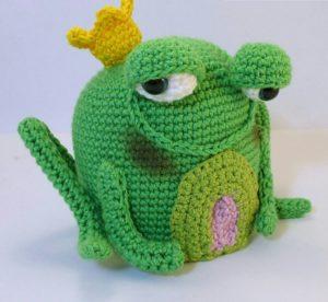 Amigurumi örgü oyuncak kurbağa tarifi anlatımlı