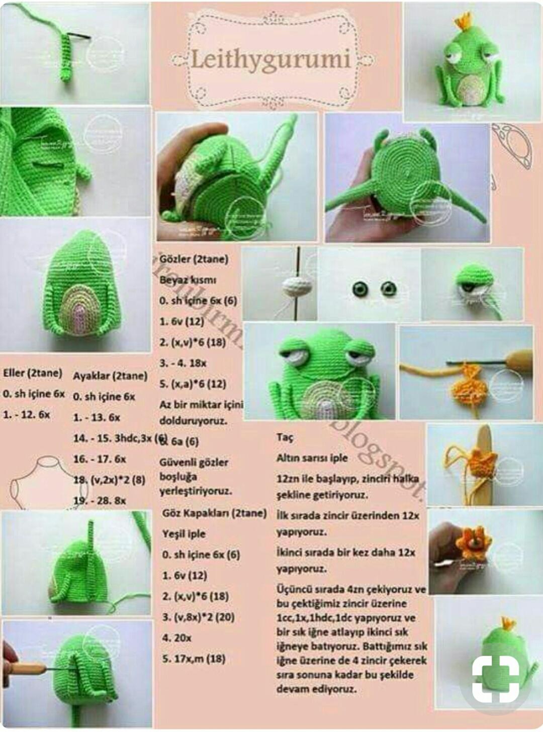 Amigurumi Kaplumbağa Yapılışı - orgubiliyorum.com | 1457x1080