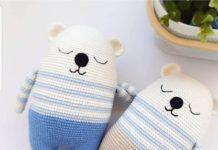 Amigurumi örgü uyku arkadaşı modeli tarifi yapılışı