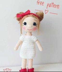 Yeni başlayanlar için kolay ve pratik amigurumi örgü oyuncak bebek tarifi anlatımlı