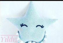 Amigurumi örgü bebek yatağı yastığı modeli tarifi anlatımlı