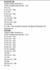 Amigurumi free pattern yurtdışı türkçe açıklamalı amigurumi örgü oyuncak modelleri ve yapılışları