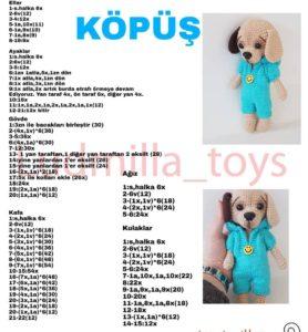 Amigurumi yurt dışı patentli türkçe açıklamalı örgü oyuncak modelleri ve açıklamaları