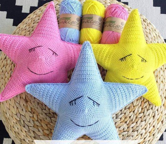 Amigurumi örgü süs yastık modelleri