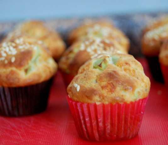 Tuzlu zeytinli muffin tarifi