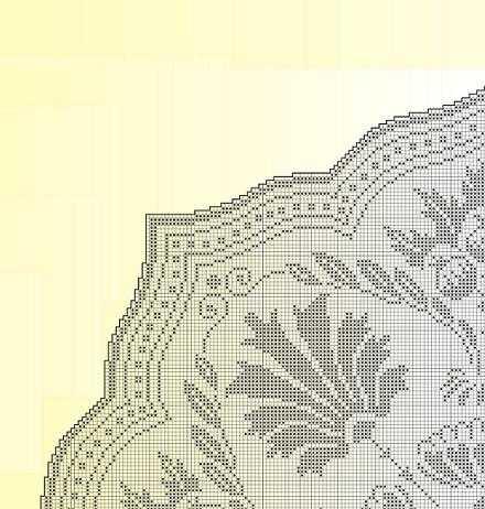 Zikzak kenarlı dantel masa örtüsü modeli yapılışı (anlatımlı)