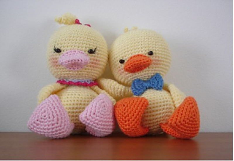 Amigurumi Duck Pattern Free : AM?GURUM? oyuncak modelleri (anlatimli) orgu, orgu ...