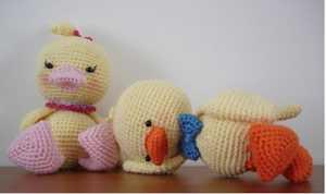 Amigurumi örgü ördek oyuncak modelleri yapılışı (anlatımlı)