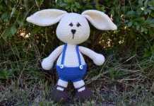 Amigurumi örgü sevimli tavşan modeli yapılışı anlatımlı