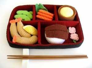 Amigurumi oyuncak çin yemekleri modelleri