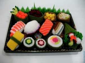 Amigurumi oyuncak sebze modelleri