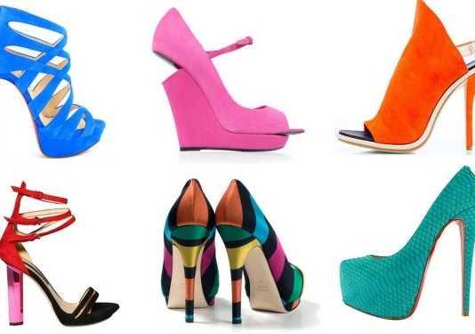 En yeni burnu açık bot tarzı yazlık ayakkabı modelleri
