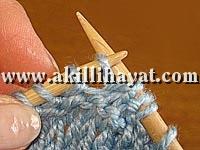Örgü baklava deseni tekniği resimli ve anlatımlı
