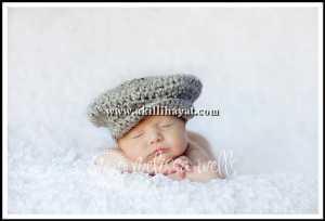 örgü bebek kasketi modeli