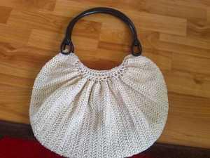 2011 deri saplı örme çanta modeli yapılışı