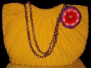 2011 modası zincir saplı örgü çanta modeli yapılışı