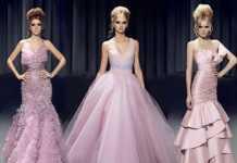 Cengiz Abazoğlu 2011 Pembe Abiye Elbise Modelleri