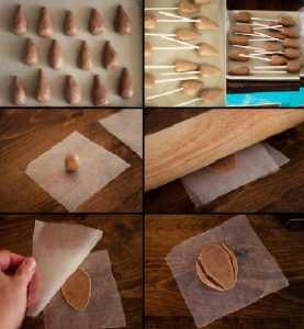 Anneler günü için ev yapımı hediye seçenekleri - Çiçekli Çikolatalı Kek Buketleri Yapılışı