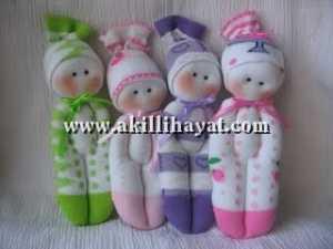 Çoraplardan oyuncak yapımı
