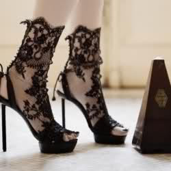 Dantel Ayakkabı Modeli
