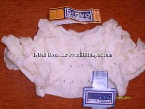 Dilek Bora'dan Firfirli bebek elbisesi ve fırfırlı bolero modeli yapılışı (Anlatımlı)