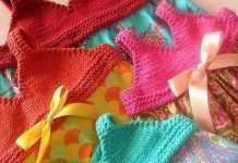Örgü bikini üstlü kumaştan yazlık çocuk elbisesi modeli yapılışı (anlatımlı)