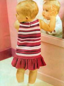 Fırfırlı Yazlık Bebek Elbisesi Modeli Yapılışı (anlatımlı)