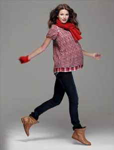 2011 Günlük spor hamile giysileri modası