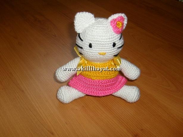 Amigurumi hello kitty yapımı Amigurumi bebek yapımı amigurumi ... | 461x615