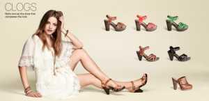 2011 H&M Ayakkabı Modelleri - H&M takunya ayakkabı modeli