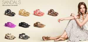 2011 H&M Ayakkabı Modelleri - H&M sandalet modeli