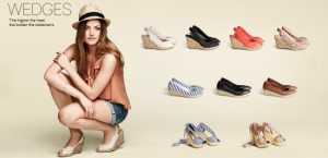 2011 H&M Ayakkabı Modelleri - H&M Dolgu hasır topuklu ayakkabı modeli