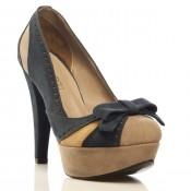 İvana Sert'in platform topuk fiyonklu ayakkabı modelleri