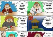 Komik bir karikatür