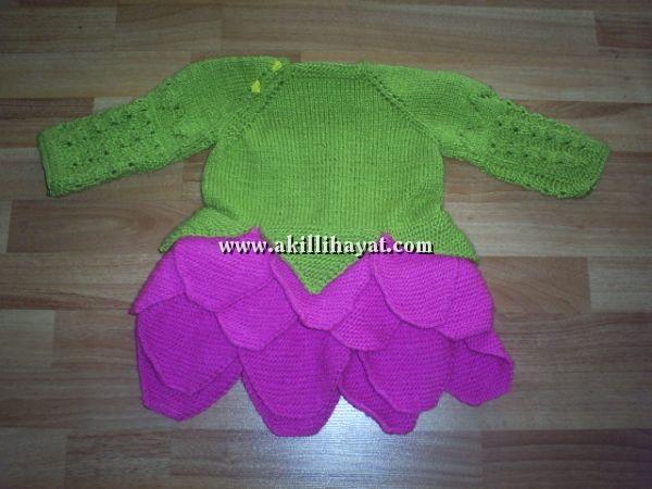 Misinali Şisle Bebek Elbisesi Yapılışı