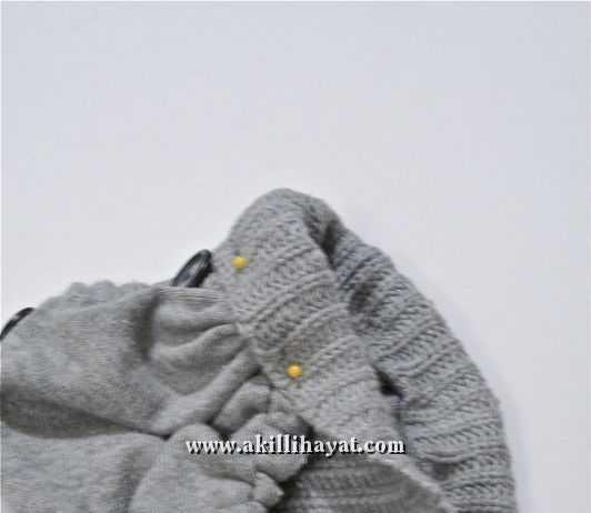 Düğmeli kazaktan bere yapılışı ( resimli anlatım )